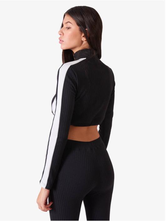 Project X Paris Pullover Elastic Crop black
