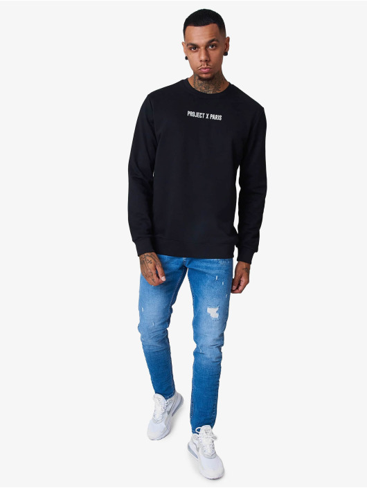 Project X Paris Pullover Basic embroidery logo black