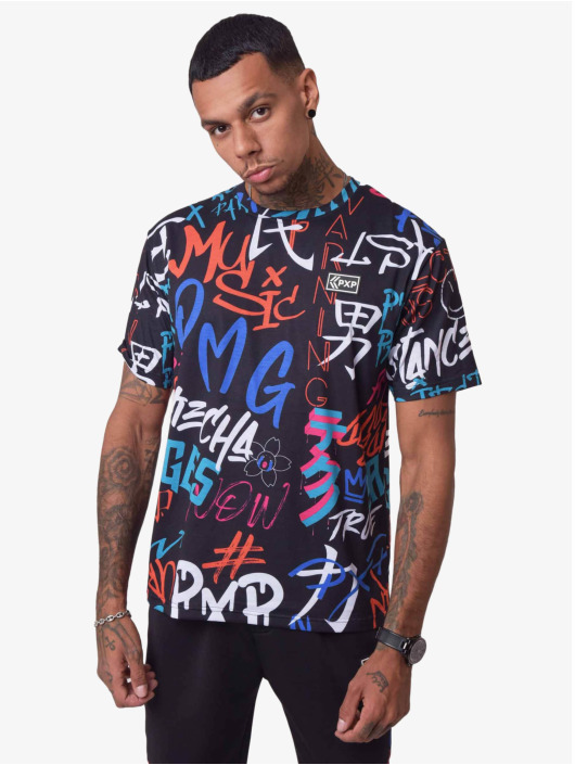Project X Paris T-Shirt Graffiti black