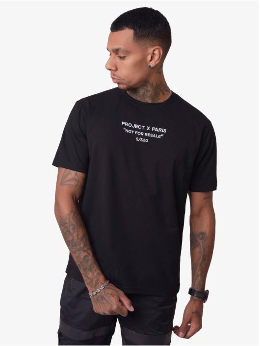 Project X Paris T-Shirt Not For Resale black