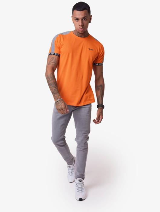 Project X Paris T-Shirt Reflective Track Shoulder orange