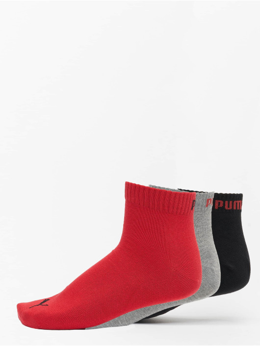 Puma Dobotex Socks 3 Pack Quarter Plain black