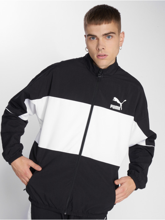 Puma Lightweight Jacket Retro Woven black
