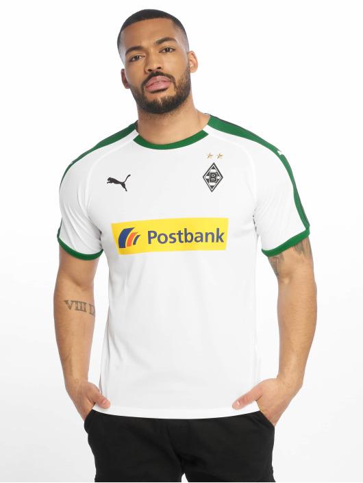 Puma Performance Fußballtrikots BMG Home Replica Sponsor Logo white