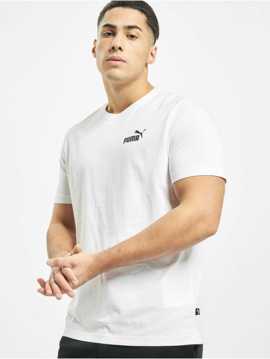 Puma Performance T-Shirt Essentials Small Logo Tee white