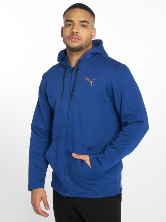 Puma Performance Zip Hoodie VENT blue