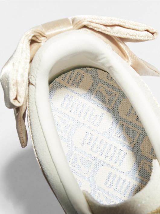 Puma Sneakers Suede Bow Varsity beige