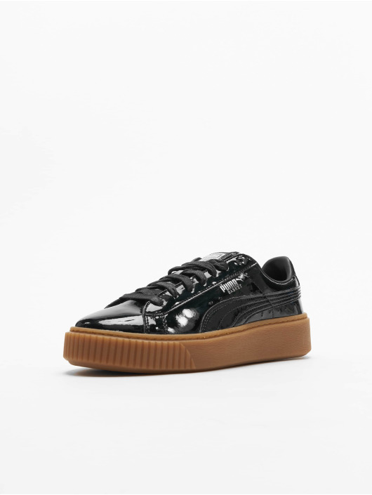 Puma Sneakers Basket Platform black