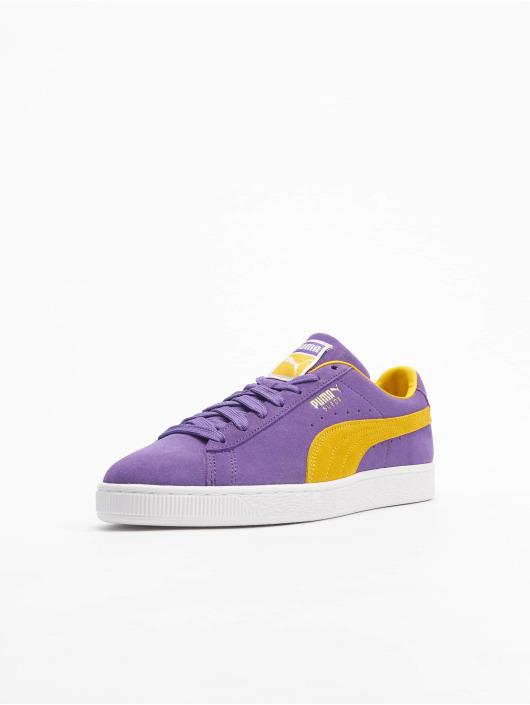 Puma Sneakers Suede Teams purple