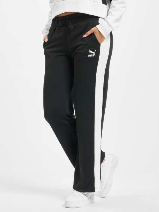 Puma Sweat Pant Wide Leg black