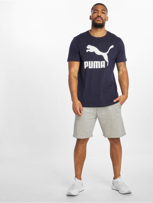 Puma T-Shirt Logo blue