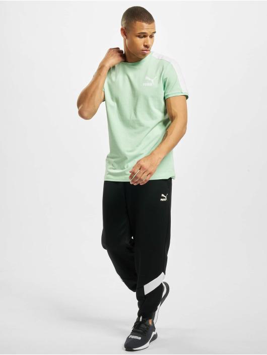 Puma T-Shirt Iconic T7 Slim green