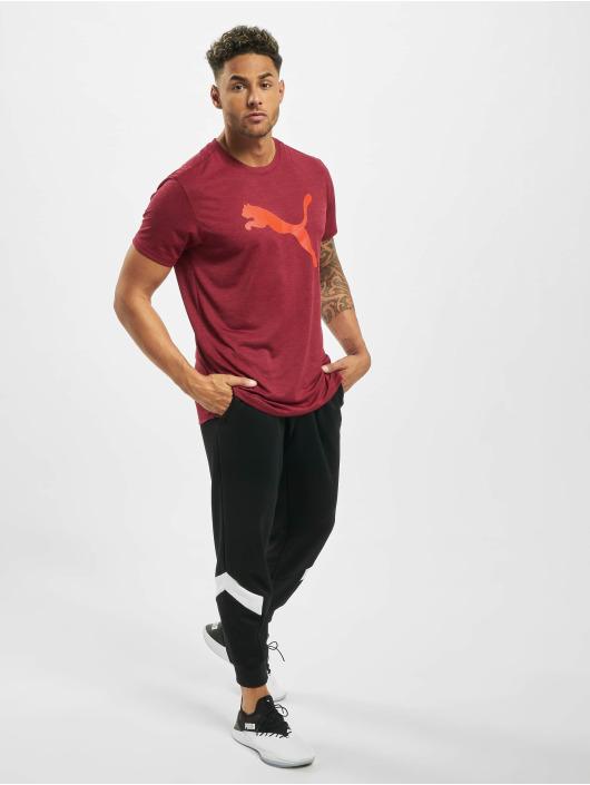 Puma T-Shirt Heather Cat red