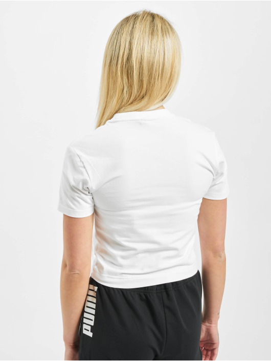 Puma T-Shirt Nu-Tility Fitted white