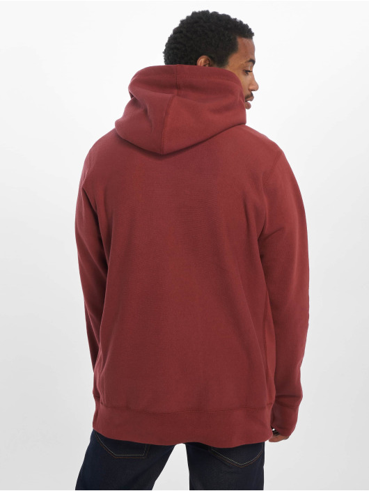 Raised by Wolves Hoodie PVC Logo red