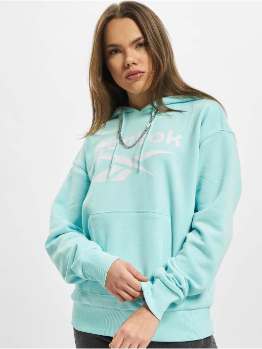 Reebok Hoodie Identity Big Logo French Terry turquoise