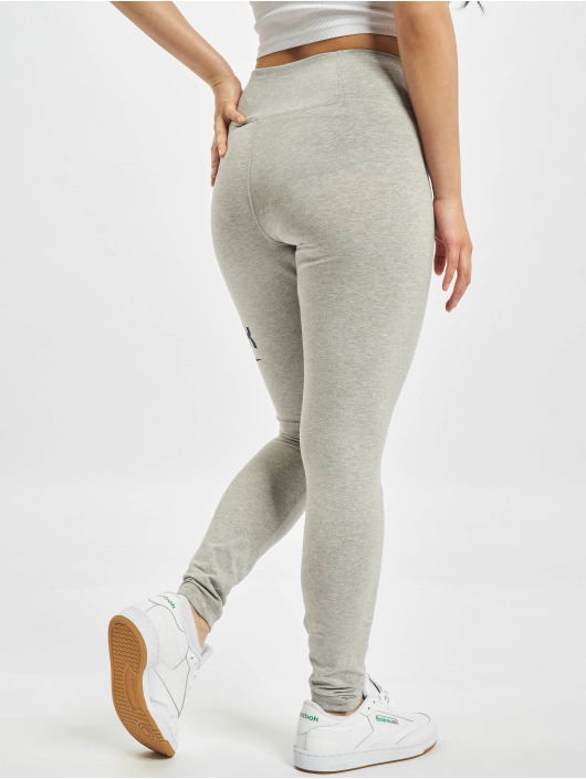 Reebok Leggings/Treggings Identity Big Logo Cotton gray