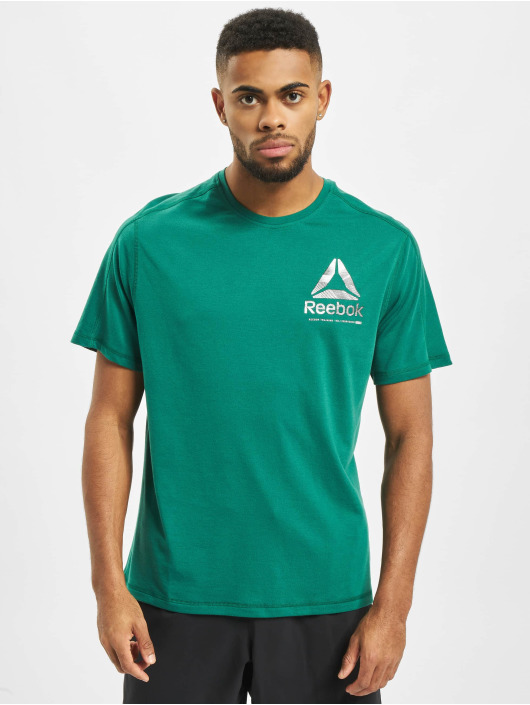 Reebok Performance T-Shirt Speedwick Graphic green