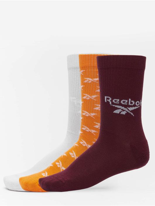 Reebok Socks Classics 3 Pack FO Crew orange