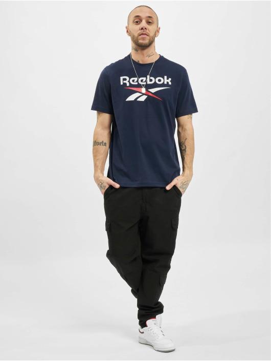 Reebok T-Shirt Identity Big Logo blue