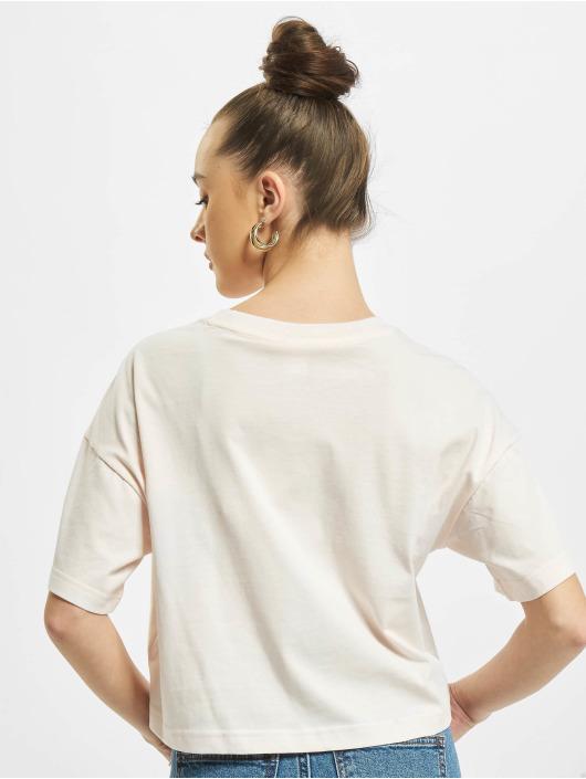 Reebok T-Shirt Cropped Small Logo pink