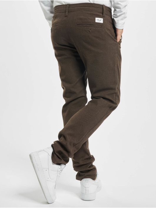 Reell Jeans Chino pants Superior Flex brown