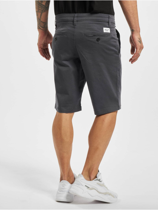 Reell Jeans Short Flex Grip Chino gray