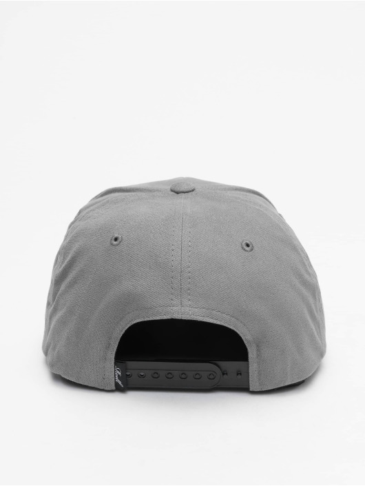Reell Jeans Snapback Cap Suede gray