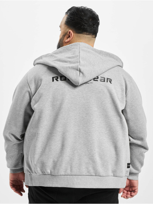 Rocawear Zip Hoodie Big Brand gray