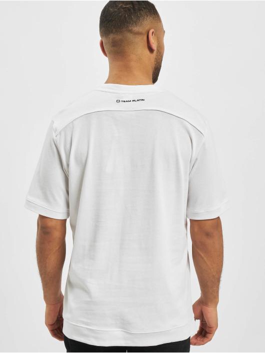 Sergio Tacchini T-Shirt Team Platin Fire white