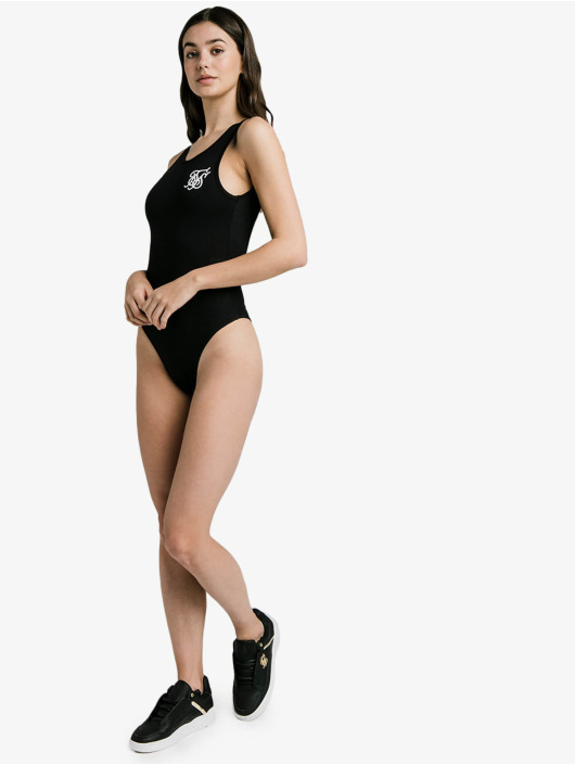 Sik Silk Body Backless black