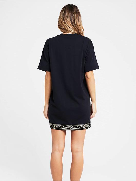 Sik Silk Dress Athena black