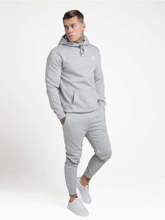 Sik Silk Hoodie Muscle Fit Overhead gray