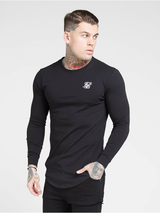 Sik Silk Longsleeve Core black