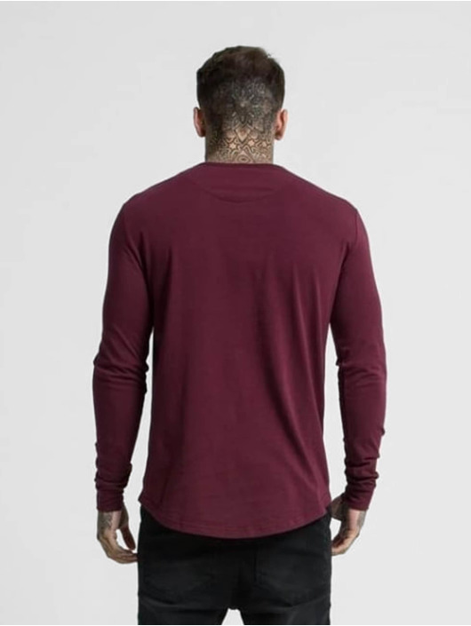 Sik Silk Longsleeve Gym red