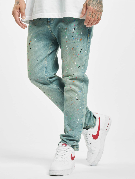 Sik Silk Loose Fit Jeans Steve Aoki Riot Loose Fit blue