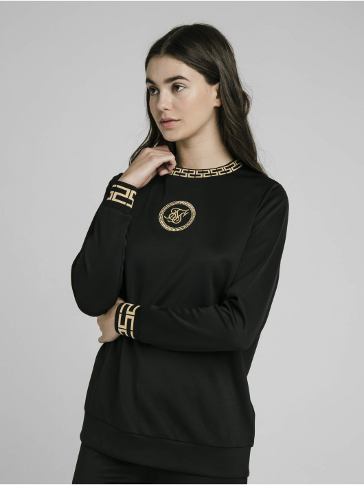 Sik Silk Pullover Luxury Poly black