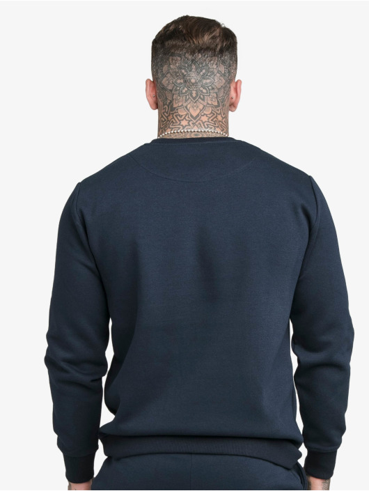 Sik Silk Pullover Crew blue