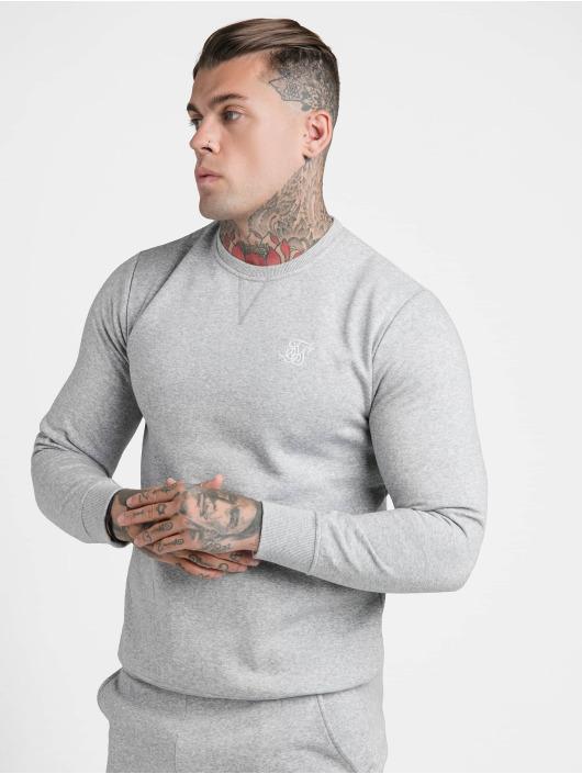 Sik Silk Pullover Crew gray