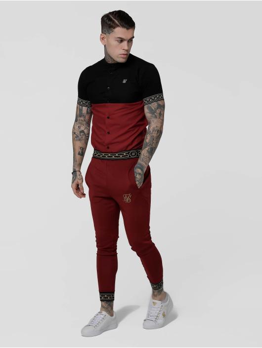 Sik Silk Shirt Cut & Sew Cartel Grandad black