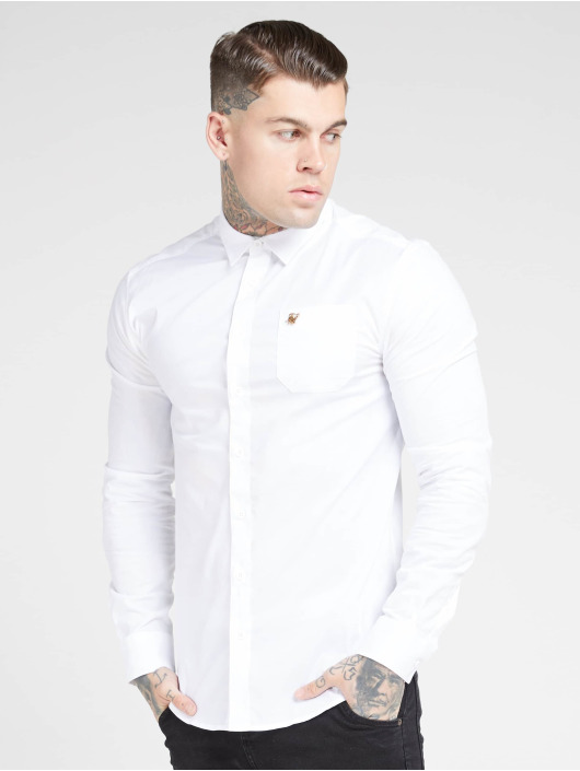Sik Silk Shirt Smart white