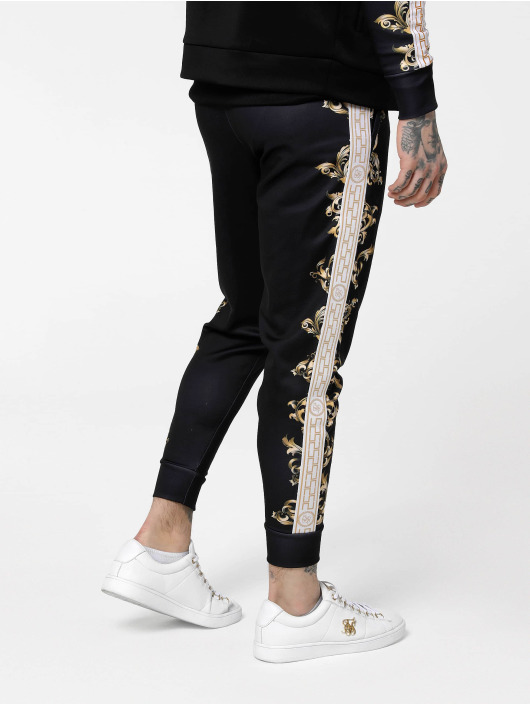 Sik Silk Sweat Pant Black Edition Poly Cuffed black