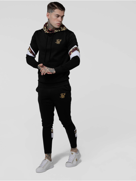 Sik Silk Sweat Pant Royal Venetian Sprint black