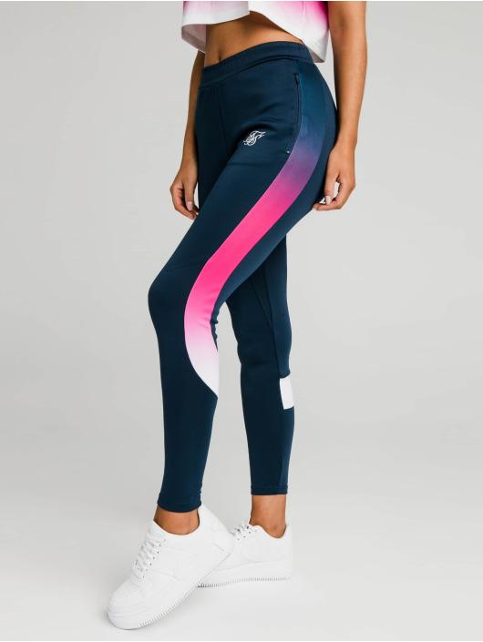 Sik Silk Sweat Pant Fade Stripe Athlete blue