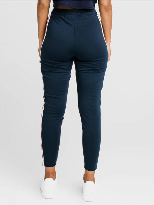 Sik Silk Sweat Pant Classic Tape blue