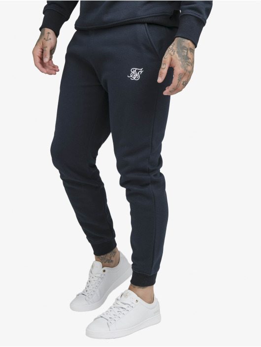 Sik Silk Sweat Pant Muscle Fit blue