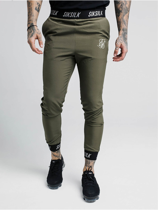 Sik Silk Sweat Pant Pursuit khaki