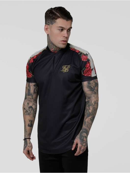 Sik Silk T-Shirt Majestic Baseball black