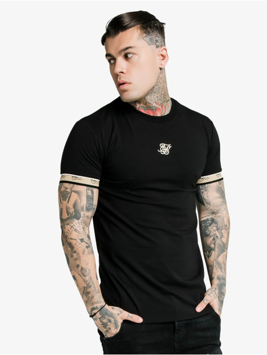 Sik Silk T-Shirt Premium Tape Gym black