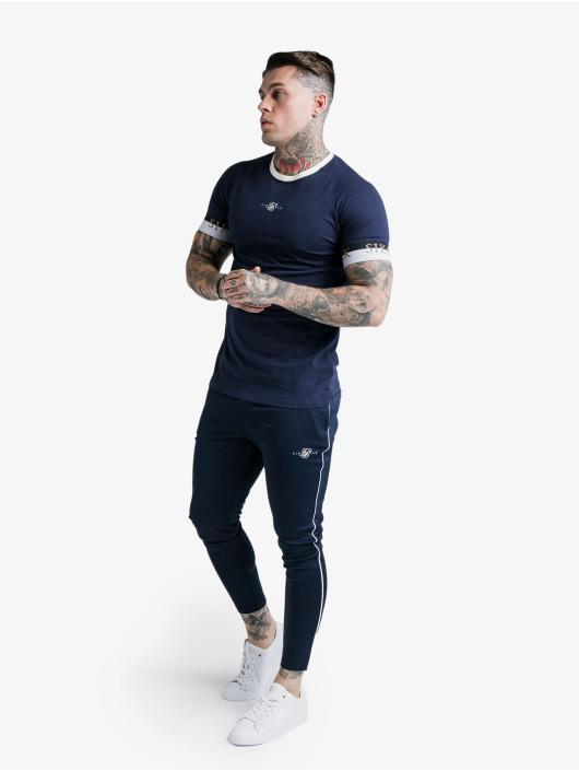 Sik Silk T-Shirt Deluxe Ringer Tech blue